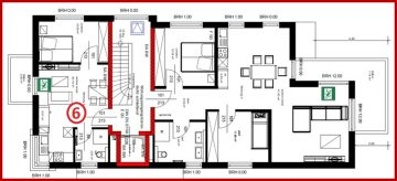 ERSTBEZUG! Helle, schöne 2-Zimmer-Wohnung mit kleinem Balkon sehr zentral in Kerpen-Horrem gelegen, 50169 Kerpen / Horrem, Etagenwohnung
