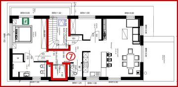 ERSTBEZUG Helle, schöne 3-Zimmer-Wohnung mit mehreren Balkonen sehr zentral in Kerpen-Horrem gelegen, 50169 Kerpen / Horrem, Dachgeschosswohnung