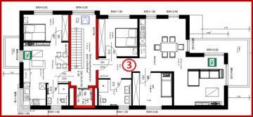 ERSTBEZUG! Helle, schöne 3-Zimmer-Wohnung mit Balkon sehr zentral in Kerpen-Horrem gelegen, 50169 Kerpen / Horrem, Etagenwohnung